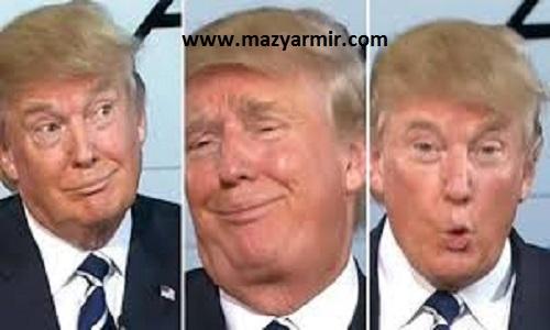 زبان بدن بدن دونالد ترامپ