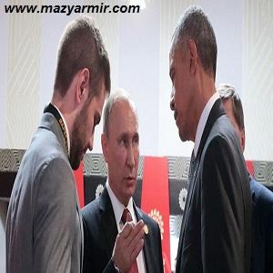زبان بدن آخرین گفتگوی پوتین و اوباما