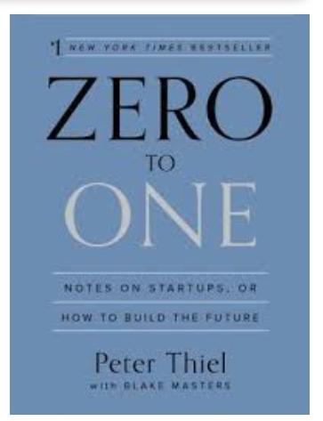 خلاصه کتاب از صفر به یک
